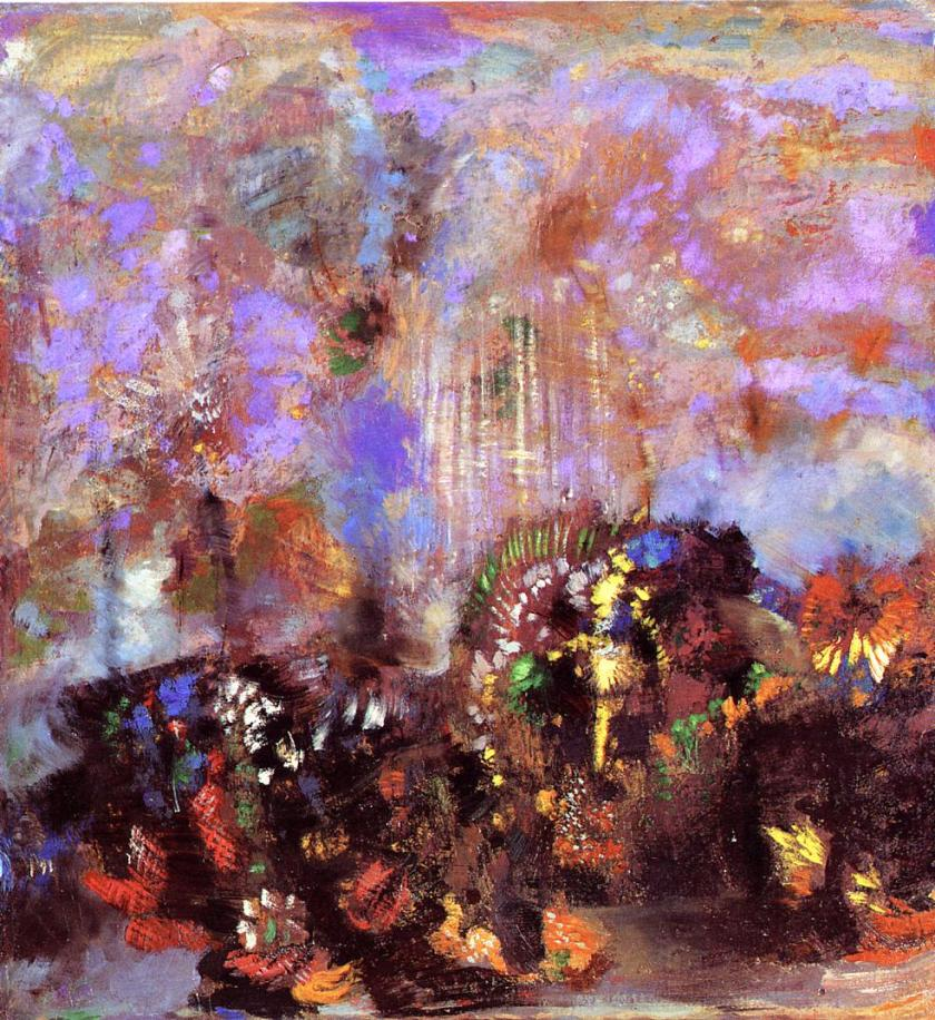 'Flowers' - Odilon Redon