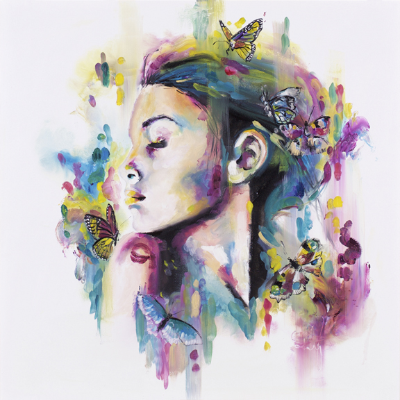 'Lepideptora' Lepidopteran (moth and butterfly) species are characterized by the individual scales, built of hairs covering the wings and bodies that create the vivid colours and unique patterns. Much like the impressionist brush strokes that build up to make an abundantly textured painting.