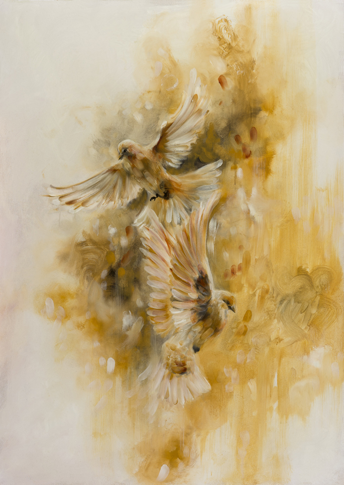 Gold birds-Ochre