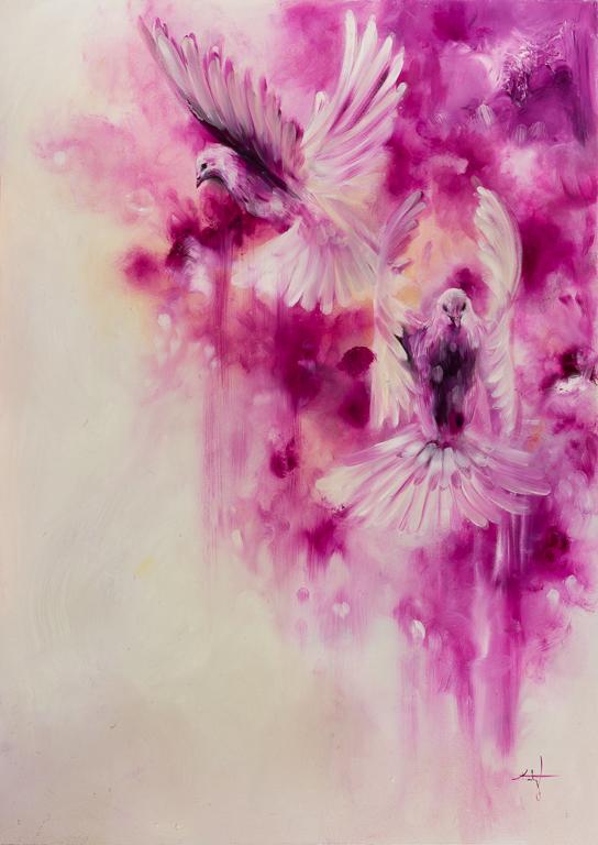 Magenta birds-Magenta