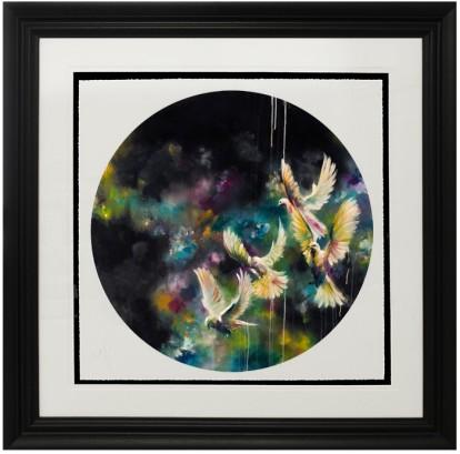 Katy Jade Dobson - Dusk Framed Print Webfile